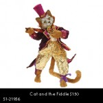 Cat and the Fiddle $150